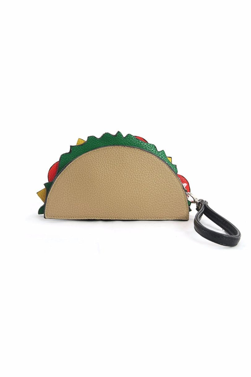 Sleepyville Critters Taco Wristlet - Side Cropped Image