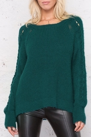 Wooden Ships Sleeve Detail Sweater - Product Mini Image