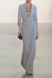 Badgley Mischka ¾ Sleeve Gown - Product Mini Image