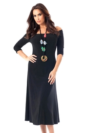 Angel Apparel Sleeve Maxi Dress - Product Mini Image
