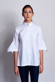 B&K moda Sleeve3/4  Cotton Shirt - Product Mini Image