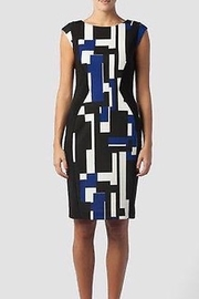Joseph Ribkoff Sleeveless Abstract dress - Product Mini Image
