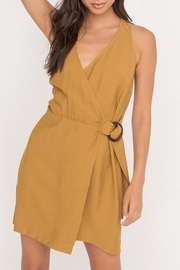 Lush Clothing  Sleeveless Belted Wrap-Dress - Product Mini Image