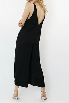 Hashttag Sleeveless Black Jumpsuit - Alternate List Image