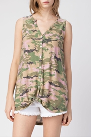 Mittoshop Sleeveless Camo Top - Product Mini Image