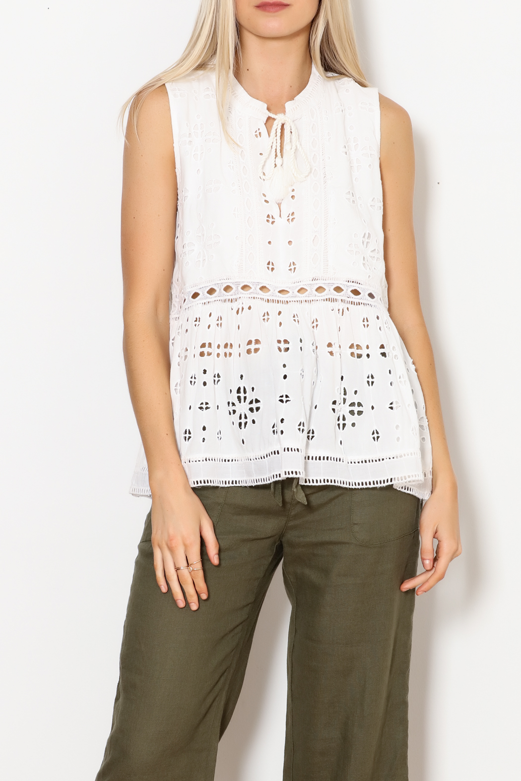 Dylan by True Grit Sleeveless Charlotte Tunic - Front Full Image