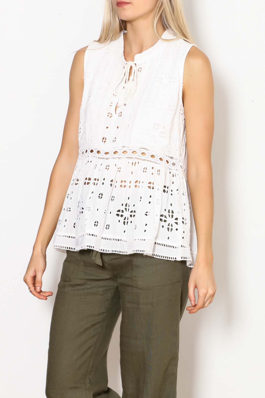 Dylan by True Grit Sleeveless Charlotte Tunic - Main Image