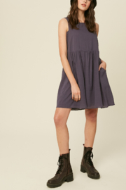 Listicle Sleeveless Cotton Babydoll - Side cropped
