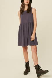 Listicle Sleeveless Cotton Babydoll - Front cropped
