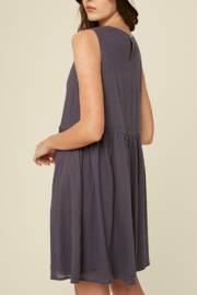 Listicle Sleeveless Cotton Babydoll - Front full body