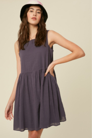 Listicle Sleeveless Cotton Babydoll - Other