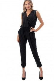 Ariella Sleeveless Crossover Front Jumpsuit - Back cropped