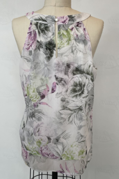 Sioni Sleeveless Cut Out Top - Alternate List Image
