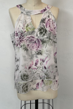 Sioni Sleeveless Cut Out Top - Product List Image