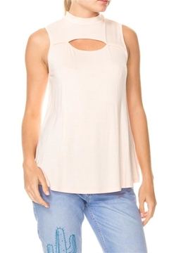 Shoptiques Product: Sleeveless Cutout Top