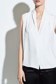 Vince Sleeveless Drape Blouse - Product Mini Image