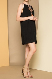 THML Clothing Sleeveless Embroidered Dress - Front full body