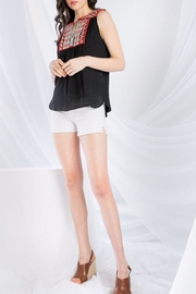 THML Clothing Sleeveless Embroidered Top - Side cropped