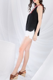 THML Clothing Sleeveless Embroidered Top - Other