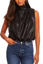 Amanda Uprichard Sleeveless Fabienne Bodysuit - Product Mini Image