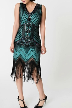 Shoptiques Product: Sleeveless Flapper Dress