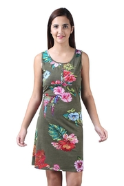Parsley & Sage Sleeveless Floral Dress - Product Mini Image