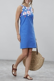 Joules Sleeveless Floral Dress - Product Mini Image