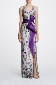 Marchesa Sleeveless Floral Gown - Product Mini Image