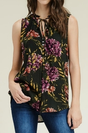 Staccato Sleeveless Floral Top - Product Mini Image