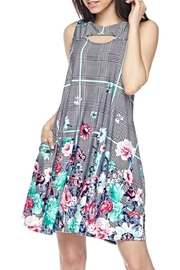 KITTY COUTURE  Sleeveless Floral Tunic - Product Mini Image