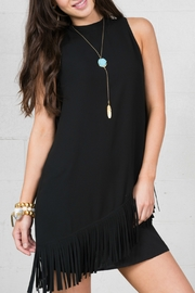 Cousin Earl Sleeveless Fringe Dress - Product Mini Image