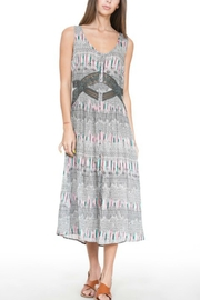 En Creme Sleeveless Grey Maxi-Dress - Product Mini Image