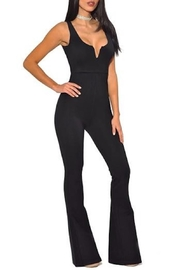 Miss Circle Sleeveless Jumpsuit - Product Mini Image