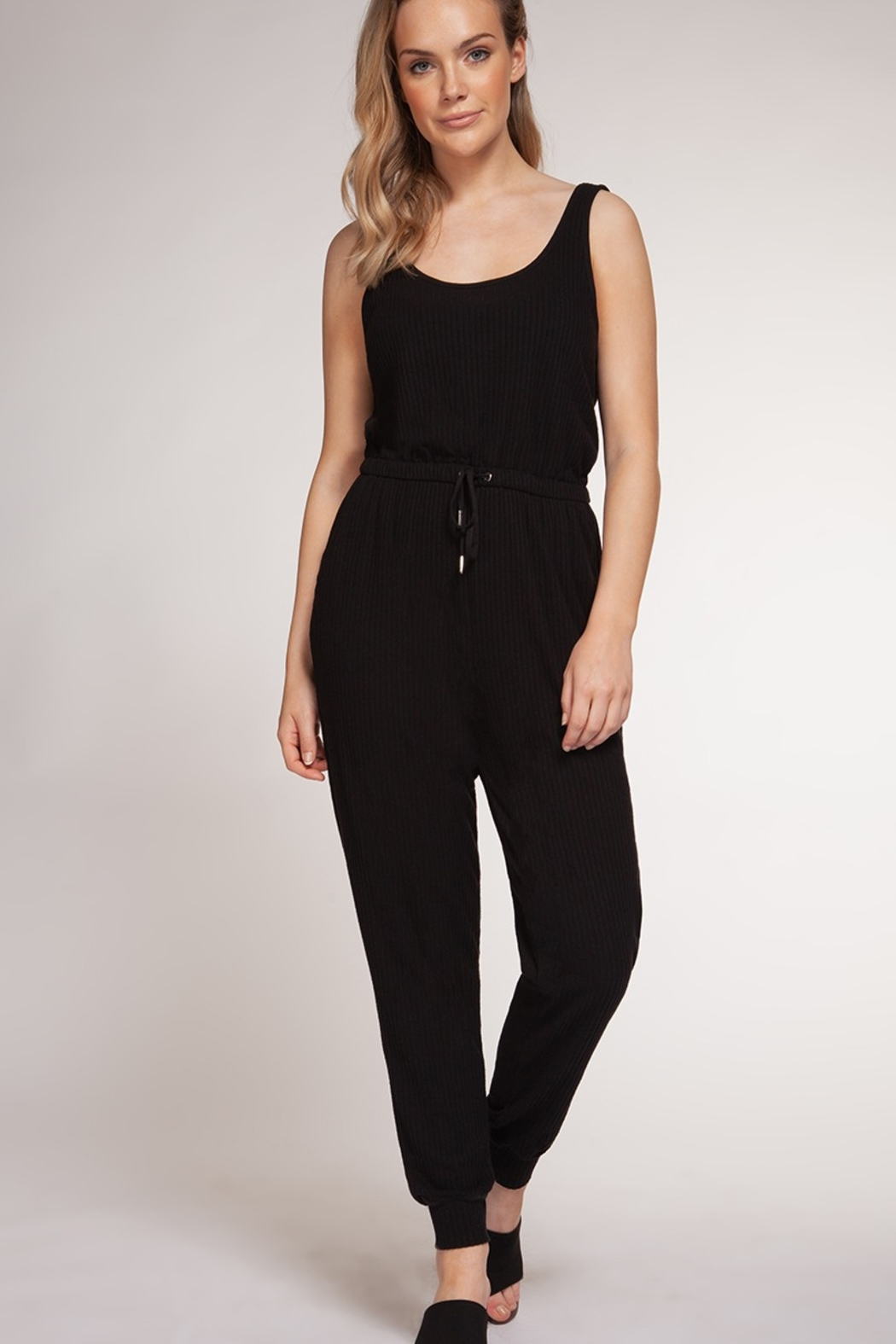 Dex Sleeveless Jumpsuit - Front Cropped Image