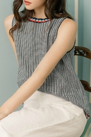 THML Clothing Sleeveless Knit top - Front cropped