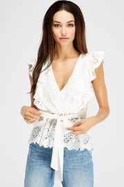 Flying Tomato Sleeveless Lace Blouse - Product Mini Image