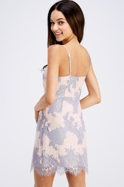 storia Sleeveless Lace Dress - Back cropped