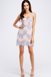 storia Sleeveless Lace Dress - Front full body