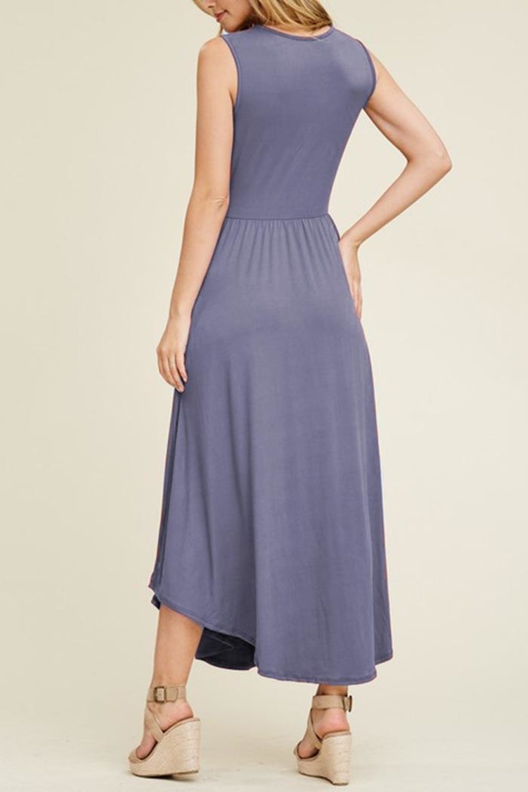 33098c532c5 Reborn J Sleeveless Maxi Dress from New York City by Local Color NYC ...