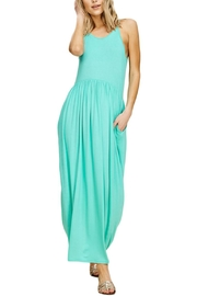 annabelle Sleeveless Maxi Dress - Front cropped