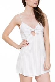 En Creme Sleeveless Mini Dress - Product Mini Image
