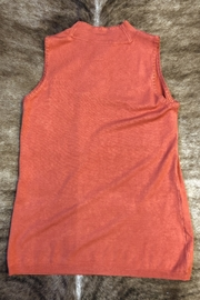 Sharon Young Sleeveless Mock Sweater - Front full body