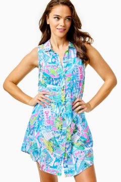Lilly Pulitzer  Sleeveless Natalie Cover-Up - Product List Image