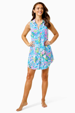 Lilly Pulitzer  Sleeveless Natalie Cover-Up - Alternate List Image
