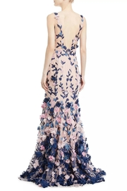 Marchesa Sleeveless Petal Gown - Front full body