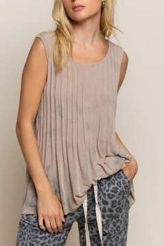 Shoptiques Product: Sleeveless Pintuck Top
