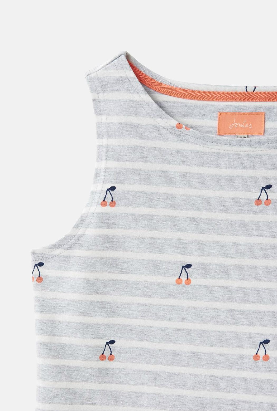 Joules Sleeveless Print Dress - Side Cropped Image