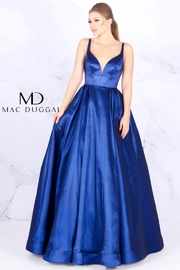CREATIVE IMPORTS/ MAC DUGGAL SLEEVELESS ROMANTIC BALLGOWN - Product Mini Image