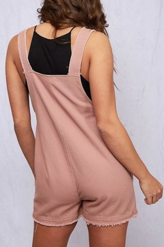Peach Love California Sleeveless Romper - Alternate List Image