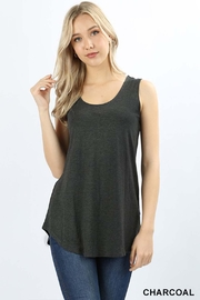 Zenana Outfitters Sleeveless Round-Hem Top - Product Mini Image